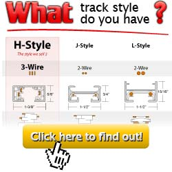 Track lighting fixtures connectors and accessories what track style do you have aloadofball Choice Image