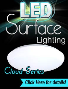 LED Surface Lights - Cloud Series