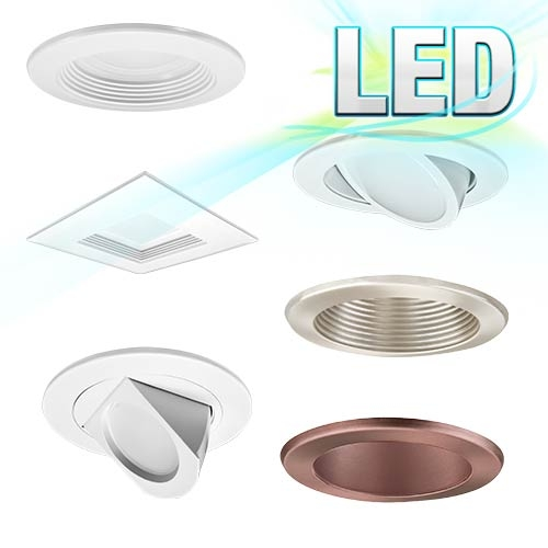 Only led recessed lighting 2 3 4 5 6 4 led recessed lighting aloadofball Images