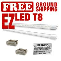 EZ T8 LED 4' Kits