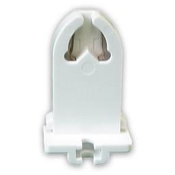 Fluorescent non-shunted medium bi-pin slide on socket for T8 LED  lamps