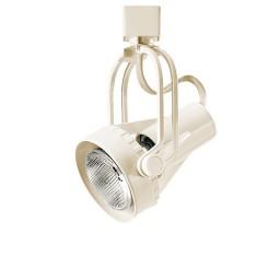 Par 20 adjustable black or white high tech wire line voltage track light fixture