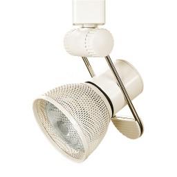 Par 20 adjustable black or white screen cone holder line voltage track light fixture
