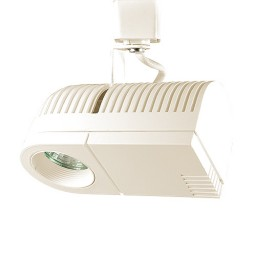 Black or white modern micro high tech MR16 low voltage track light fixture
