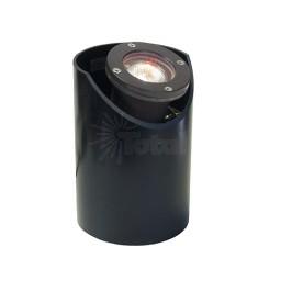 Landscape lighting MR16 adjustable sleeve fiberglass well light