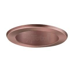 "4"" Recessed lighting LED retrofit bronze reflector bronze trim"
