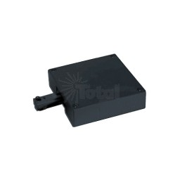 Power feed track limiter Architectural BLACK 3-wire H style single circuit title 24 compliant