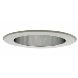 "5"" Recessed lighting LED retrofit reflector clear satin"