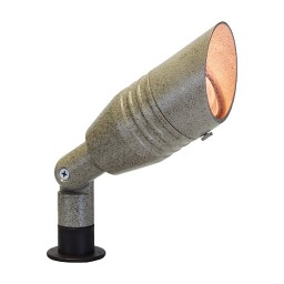 Landscape lighting rib aluminum bullet spot low voltage