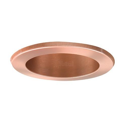 4 recessed lighting led retrofit copper reflector copper trim aloadofball Images