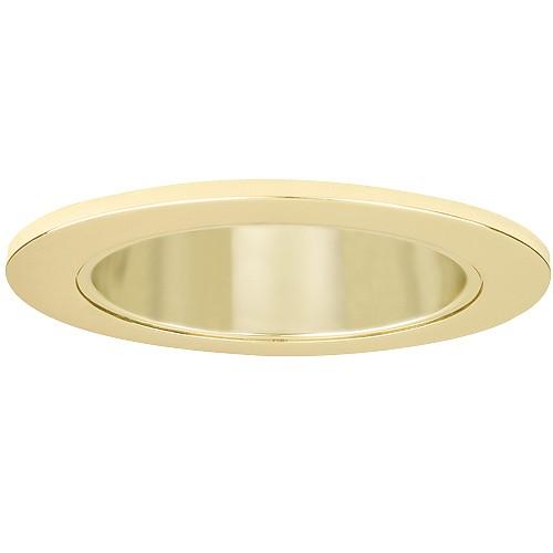 """Kitchen Led Pot Light Spacing: 4"""" Recessed Lighting LED Retrofit Gold Reflector Polished"""