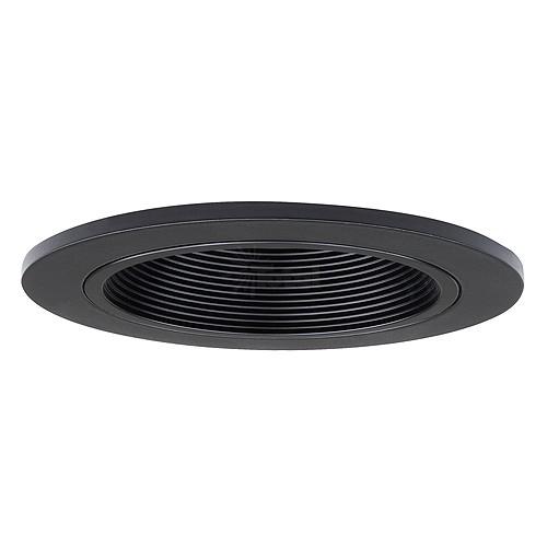 4 recessed lighting led retrofit black baffle black trim aloadofball Images