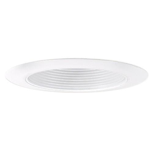 5 Designer Grade Recessed Lighting Led Retrofit White Baffle White Trim