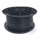 Black 18 gauge solid copper 500ft. Spool