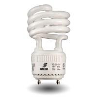 GU24 Spiral Compact Fluorescent - CFL - 14 watt - 27K