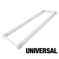 LED T8 Universal U-bend tube 15watt FROSTED lens 5000K cool white light Type A+B 2ft