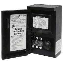 Malibu 8100-9045-01 45 watt 12VAC outdoor landscape lighting transformer with digital timer and photo eye