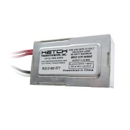 Hatch RS12-80-277 80watt 12VAC electronic encapsulated transformer 277volt