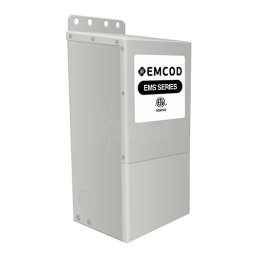 EMCOD EMS150S12AC 150watt 12volt LED AC transformer driver outdoor magnetic dimmable