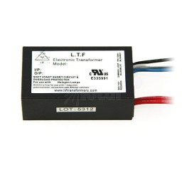 LTF 60watt no load electronic AC driver transformer 12VAC ELV dimmable TA60WA12