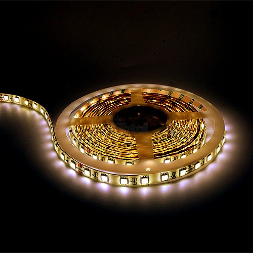 Led tape light warm white 16ft 24volt dc smd 5050 ip44 rated dimmable mozeypictures Image collections