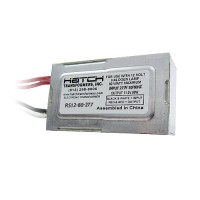 Hatch RS12-80-277 80watt 12VAC electronic encapsulated transformer 277volt