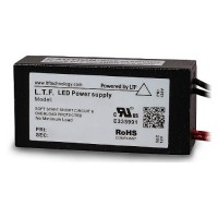 "LTF 75watt no load electronic AC driver transformer 12VAC ELV dimmable 7"" leads TA75WA12-0007"