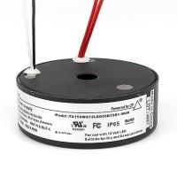 LTF LED 150watt no load electronic AC round driver transformer 12VAC ELV dimmable TA150WA12LED65B15R1