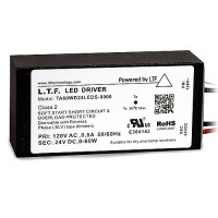 LTF LED 60watt no load electronic DC driver transformer 24VDC ELV dimmable TA60WD24LEDS-0000