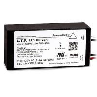 LTF LED 60watt no load electronic DC driver transformer 24VDC ELV dimmable TA60WD24LEDS-0000