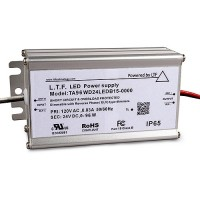 LTF LED 96watt no load electronic DC driver transformer 24VDC ELV dimmable TA96WD24LEDB15