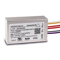 LTF LED 60watt no load electronic AC driver transformer 12VAC ELV dimmable 277volt input TE60WA12LED65B15D010