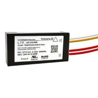 LTF LED 60watt no load electronic AC driver transformer 24VAC ELV 0-10 dimmable 277volt input TE60WA24LEDB15