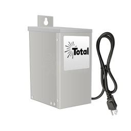 EMCOD ESL40W 40watt 12/15volt LED AC landscape outdoor driver stainless steel with mechanical timer & photo eye
