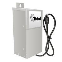 EMCOD ESL300W 300watt LED 12/15volt AC landscape outdoor driver stainless steel with mechanical timer & photo eye