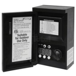 Outdoor Malibu 8100-9045-01 45 watt outdoor lanscape lighting transformer with digital timer and photo eye