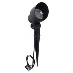 Outdoor Malibu 8401-2604-01 low voltage high power LED cast metal black flood light