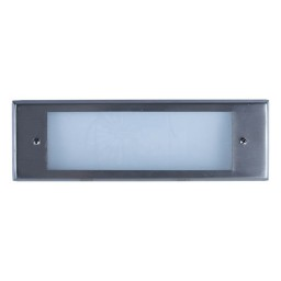 Outdoor low voltage stainless steel rectangle surface brick step wall LED light kit
