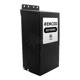 Outdoor lighting EMCOD EGP750 750watt 12 / 24volt LED AC transformer driver magnetic dimmable Class 1