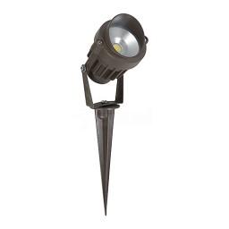 Orbit LED Outdoor landscape lighting bronze spot light, 6watt, cool white, Low Voltage, Aluminum LSL12-6W-CW