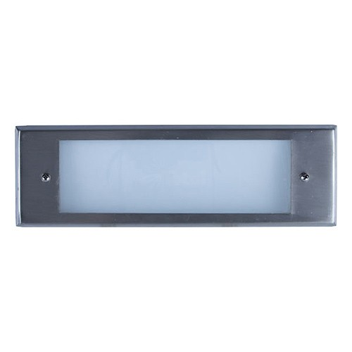 Outdoor low voltage stainless steel glass lens rectangle surface outdoor low voltage stainless steel glass lens rectangle surface brick step wall light cover plate aloadofball Image collections