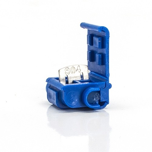 Swell Quick Outdoor Landscape Lighting Blue Tap Or Run Wire Connector With Wiring Digital Resources Counpmognl