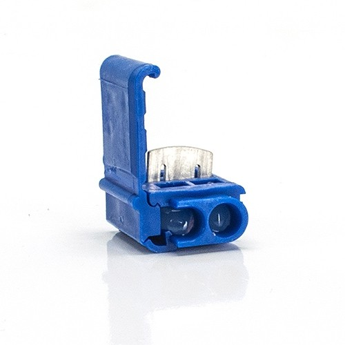 Magnificent Quick Outdoor Landscape Lighting Blue Tap Or Run Wire Connector With Wiring Digital Resources Counpmognl