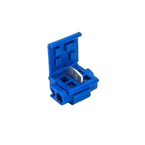 Marvelous Quick Outdoor Landscape Lighting Blue Tap Or Run Wire Connector With Wiring Digital Resources Counpmognl