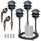 Black Pagoda, Black Spot, Stainless Steel Transformer