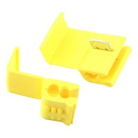 Quick outdoor landscape lighting 3M™ yellow connector