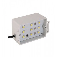 LED Outdoor landscape lighting natural white 4000K 12volt brick / step / wall light steel housing low voltage 7100H-LED