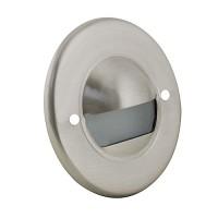 Outdoor landscape lighting round stainless steel half brick step light face plate, 7121 series