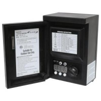 Outdoor Malibu 8100-9120-01 120watt outdoor lighting transformer with digital timer and photo eye