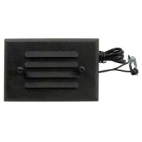 Outdoor Malibu 8406-2403-01 low voltage metal oil rubbed bronze half brick LED step & deck light